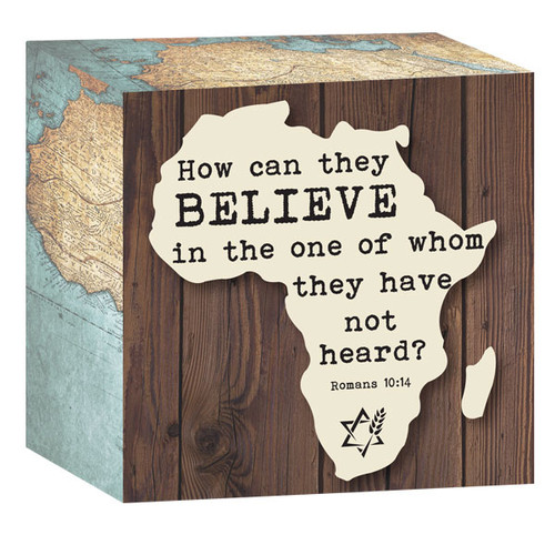 Africa Box Plaque (3169)