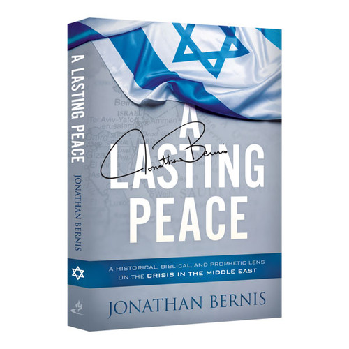 A Lasting Peace, Signed Copy book by Jonathan Bernis (9322)