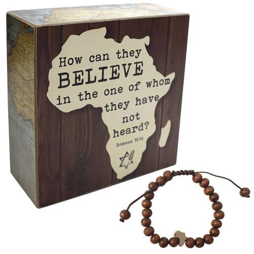 Believe Africa Plaque Package (2181)