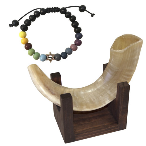 Small Shofar and Bracelet Package