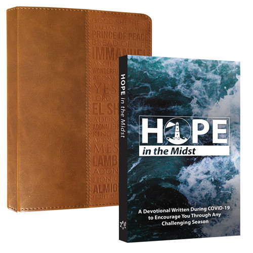 Names of God Journal and Hope Devotional