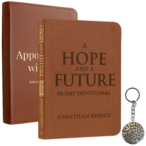 Appointments with God Book, Hope Devotional, and Shema Keyring (2237)