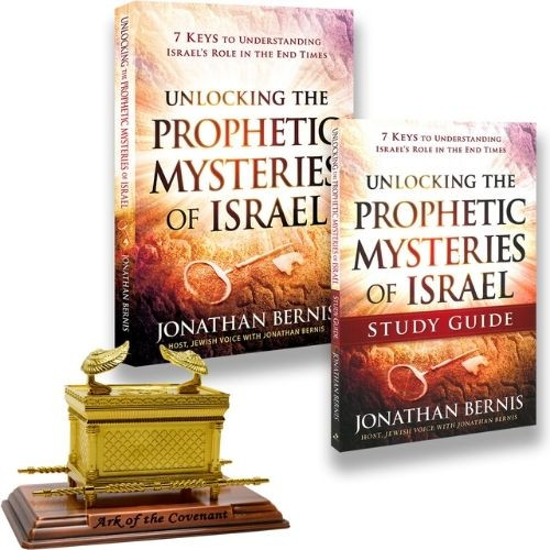 Unlocking the Prophetic Mysteries Book, Study Guide, & Ark of the Covenant (4240)