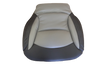 Wide Ride replacement seat cushion black/grey ultra leather