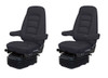 Bostrom Wide Ride with Serta Low Profile seat PAIR with swivel