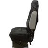 Seats Inc Coveralls Black - Side View