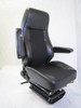 Knoedler Eagle Truck Seat Highback with Fleethawk covering (vinyl and cloth inserts), adjustable arm rests