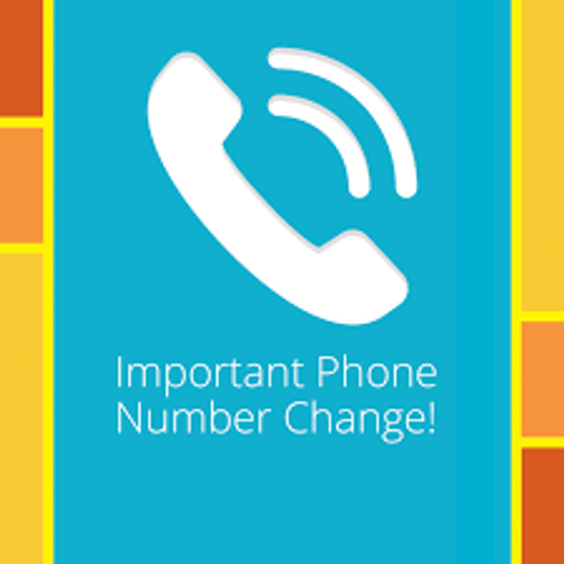 New phone number: 269-692-5770