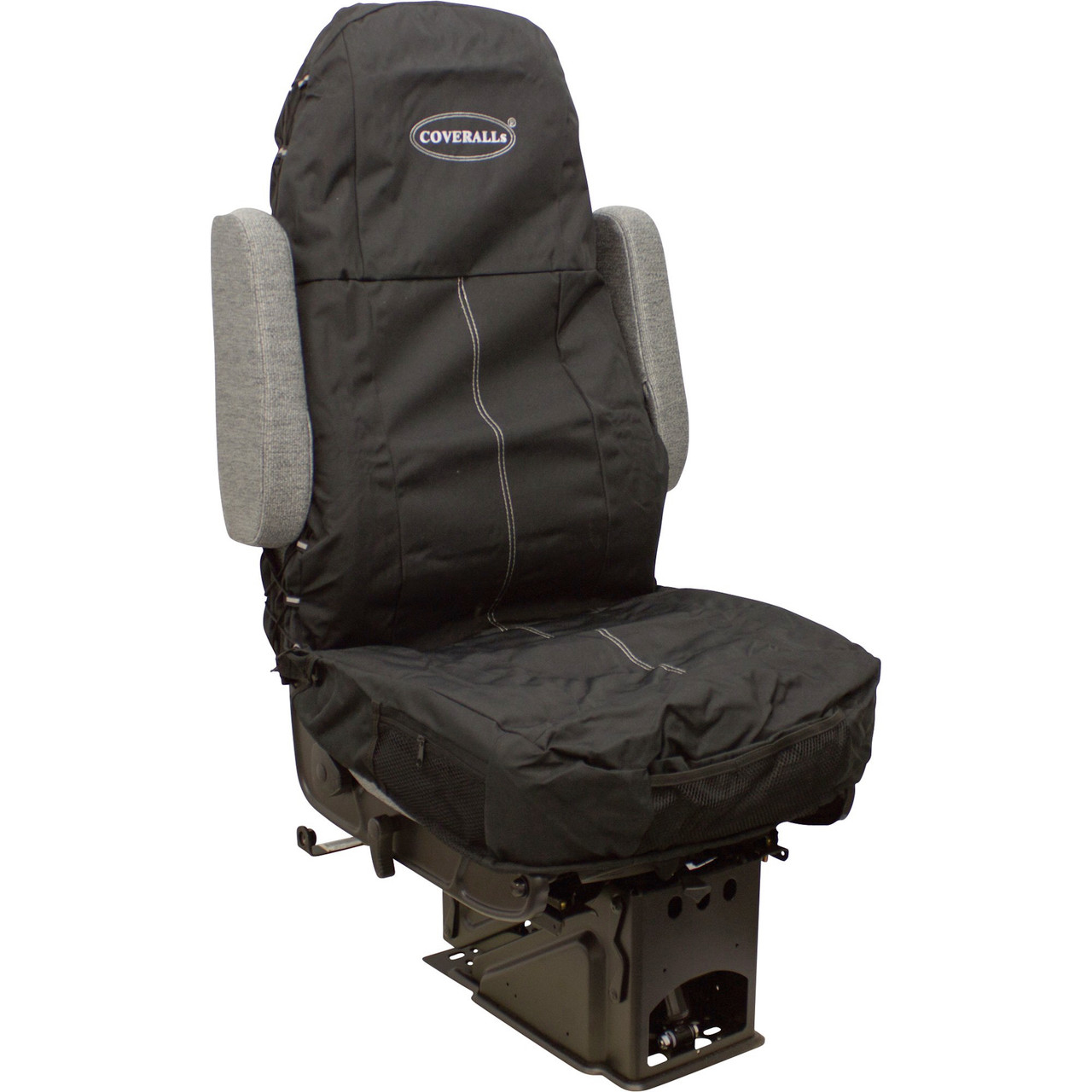 1 Black Quilted Diamond Leather Rhinos-Autostyling FOR IVECO DAILY ALL YEARS Premium Van Seat Covers Single Drivers And Double Passengers Seat Covers 2