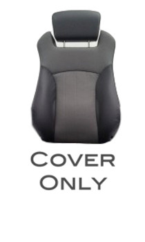 Prime Seating - Genuine Leather Back Cover for 600 series