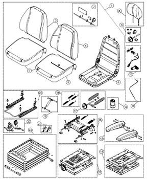 KAB 500 Series - Item 8 on Parts Breakdown