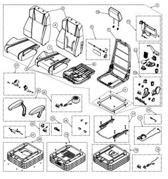 KAB 600 Series - Item 9 on Parts Breakdown