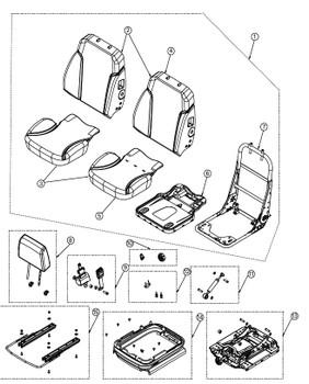 KAB Sentinel - Item # on Parts Breakdown