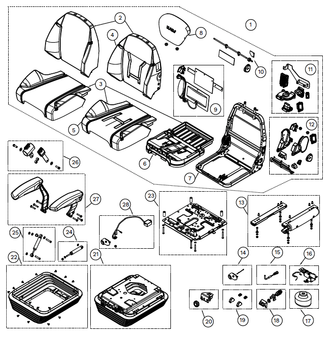 KAB 800 Series 85K6 - Item 25 on Parts Breakdown