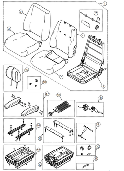 KAB 100 Series General - Item # on Parts Breakdown