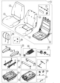 KAB 100 Series General - Item 14 on Parts Breakdown