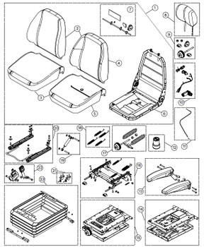KAB 500 Series - Item 1 on Parts Breakdown