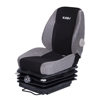 KAB 525 Heavy Duty Mechanical Suspension Black/grey Cloth