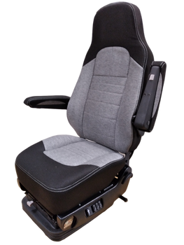 Knoedler Tall back with memory foam in Black & Grey