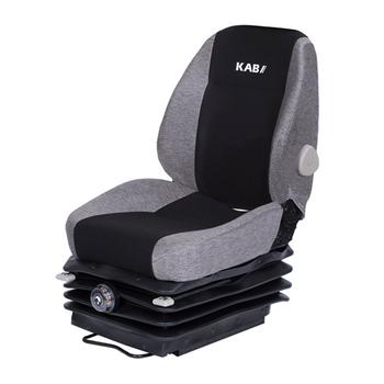 KAB 525 Heavy Duty Mechanical Suspension Black/grey Cloth - no arms or headrest