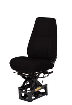 Bostrom Baja High Profile Mid Back in black no arms