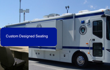 Custom Surveillance and Mobile Commend Seating