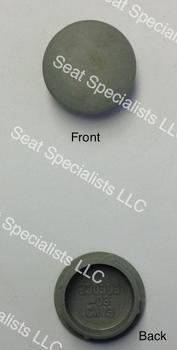 National Seating 230393-03 Cap Chugger & RCA Handle Grey
