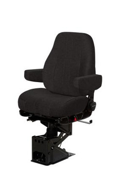 National Seating Mid Back Black Mordura with arms