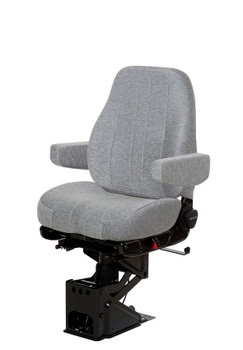 National Seating Mid Back Grey Mordura with arms