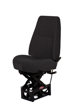 Bostrom Standard T-series Mid Back, no arms in Black Mordura