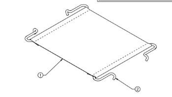 National Seating 236952-01 Cushion webbing/Mat