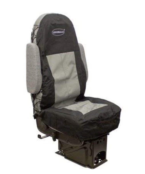 Seats Inc Coveralls Black and Grey