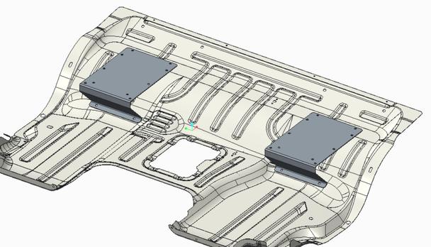 Knoedler Manufacturers Freightliner Business Class M2 Adaptor