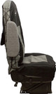 Seats Inc Coveralls Black and Grey - Side View