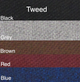 Standard Tweed Colors