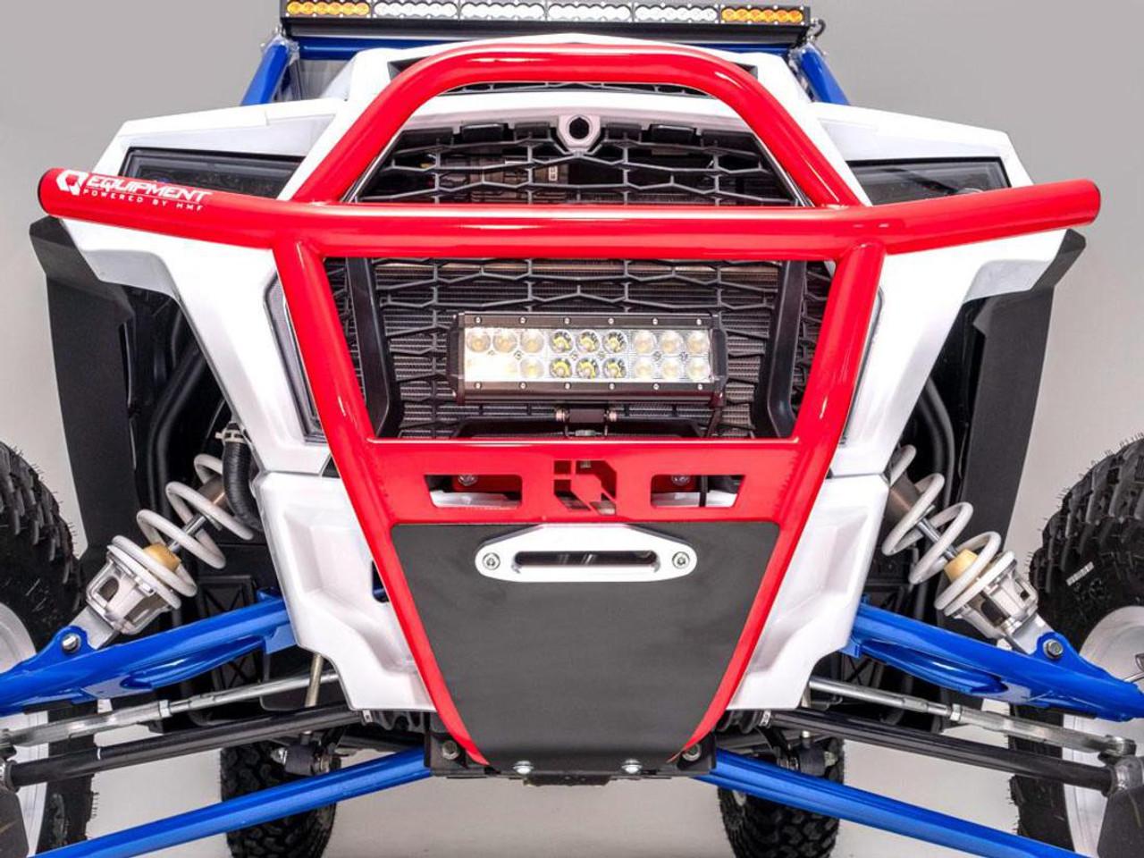 HMF IQ HD Front Bumper Polaris RZR XP 1000//Turbo//Turbo S 2019 9357212483 White