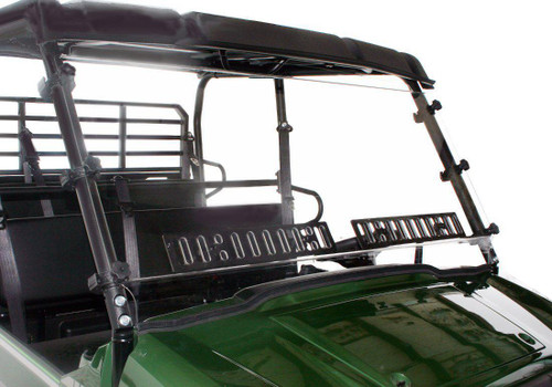 Kawasaki Mule PRO-FXT Scratch Resistant Dual Vented Windshield