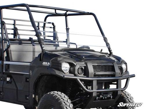 Kawasaki Mule Pro FXT Scratch Resistant Half Windshield