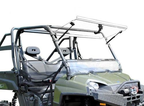 Polaris Ranger Fullsize 570 Scratch Resistant Flip Windshield