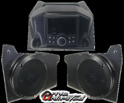 Polaris Ranger XP1000 (2018+) Dash Top Stereo System