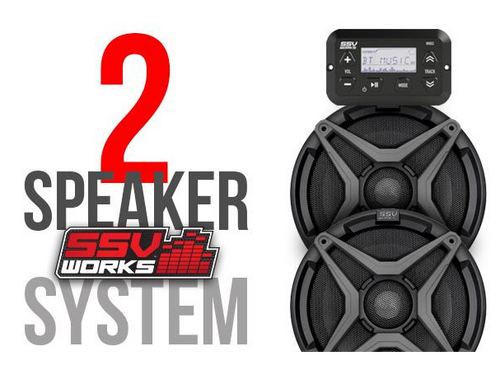 SSV Works Polaris Ranger XP 1000 Audio System (2018+)