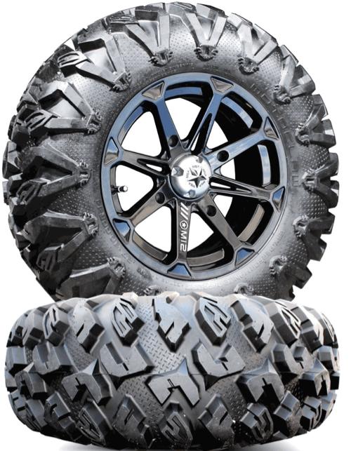 M12 Diesel Wheels w/ EFX MotoClaw Tires