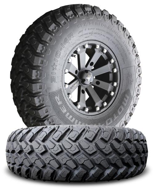 MSA M20 Kore Wheels w/ EFX MotoHammer Tires
