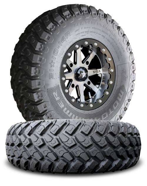 MSA M21 Lok Beadlock Wheels w/ EFX MotoHammer Tires