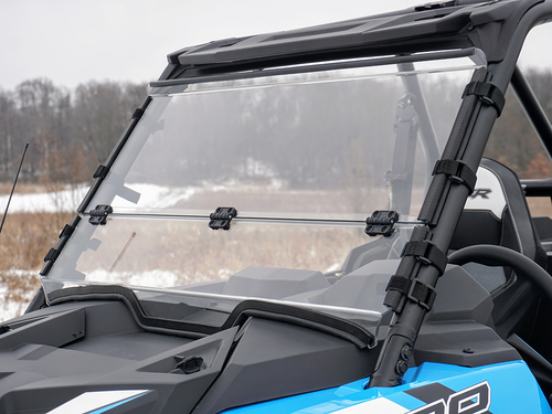 Polaris RZR XP 1000/Turbo Scratch Resistant Folding Windshield