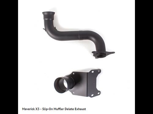 HMF Slip-On Muffler Delete Exhaust - Can-Am Maverick X3