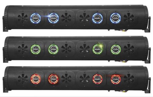 Bazooka 450W 36-inch Bluetooth Party Bar G2 w/Illumination