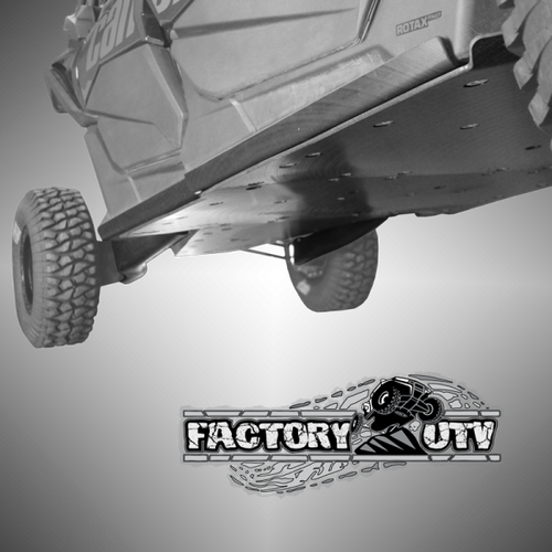 Can-Am Maverick X3 Max Three Eighths UHMW Rock Sliders