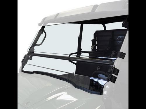 Kawasaki Mule Pro-FXT Full Tilting Scratch Resistant Windshield