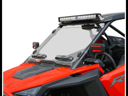Polaris RZR Pro XP Dual Vent Windshield by Spike